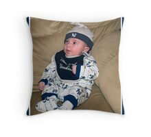 Our Future New York Yankee Throw Pillow