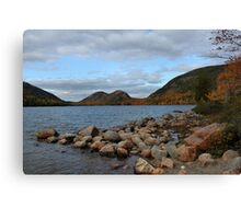'The Bubbles, From Jordan Pond' Canvas Print