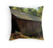Concord Covered Bridge Throw Pillow