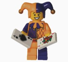 LEGO Jester with cards One Piece - Short Sleeve