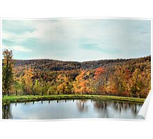 Bolton Valley Pond Poster