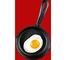 THIS IS YOUR BREAKFAST IN A SKILLET Photographic Print