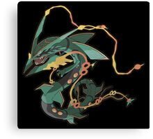 Mega Rayquaza Canvas Print