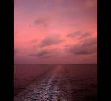 Dawn at Sea by David F Putnam