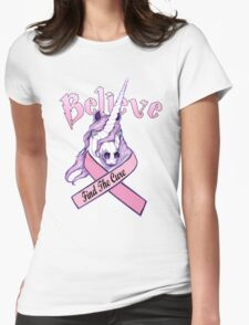 Breast Cancer Shirt Womens Fitted T-Shirt