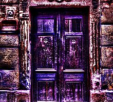 Old European Door Fine Art Print by stockfineart