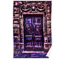 Old European Door Fine Art Print Poster