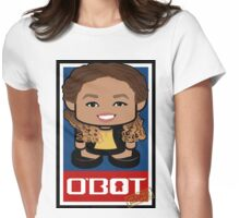 Heather McGhee Politico'bot Toy Robot 2.0 Womens Fitted T-Shirt