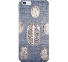 Denim with Coins iPhone Case/Skin