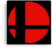 Smash Bros. Logo Canvas Print