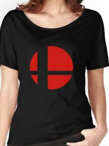 Smash Bros. Logo Women's Relaxed Fit T-Shirt