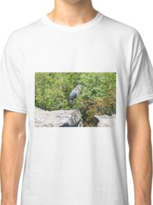 The Great Blue Heron Classic T-Shirt