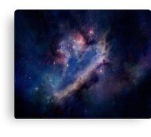 typical galaxy Canvas Print