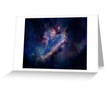 typical galaxy Greeting Card