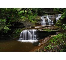 Ithaca's Buttermilk falls VIII Photographic Print