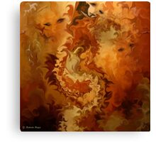Indian summer- L'ETE INDIEN / Abstract Art + Products Design  Canvas Print
