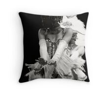ShowGirl Throw Pillow