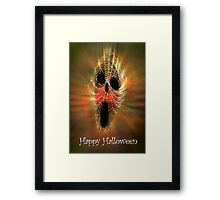 Happy Halloween to RB friends from Julie, Byron (Barnsis). Framed Print