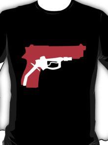 Oil Kills (red & white) T-Shirt