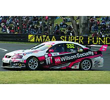333- Wilson Security V8 supercar Photographic Print