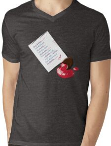 Chocolate - To do list Mens V-Neck T-Shirt