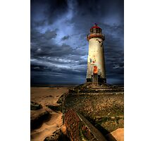 The Abandoned Lighthouse Photographic Print