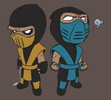 Scorpion & Sub-Zero Baby Tee
