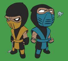Scorpion & Sub-Zero Kids Tee
