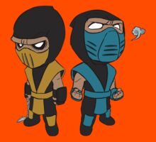 Scorpion & Sub-Zero Kids Clothes
