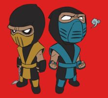 Scorpion & Sub-Zero Kids Clothes