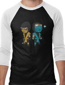 Scorpion & Sub-Zero Men's Baseball ¾ T-Shirt