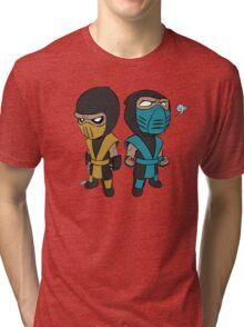 Scorpion & Sub-Zero Tri-blend T-Shirt
