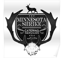 Minnesota Shrike Catering Poster