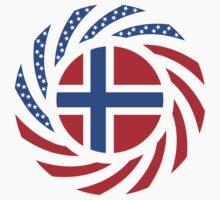 Bouvet American Multinational Patriot Flag Series by Carbon-Fibre Media