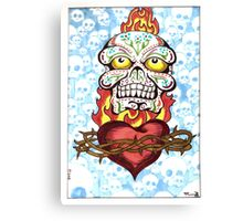 Sugarskull Canvas Print