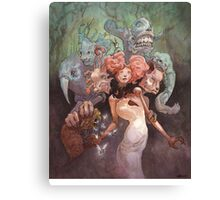 The Fanglehorn Troupe Canvas Print