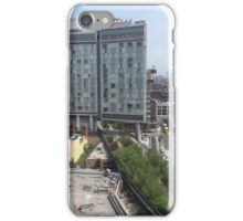 Aerial View of High Line, Standard Hotel, New York City iPhone Case/Skin