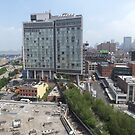 Aerial View of High Line, Standard Hotel, New York City by lenspiro