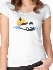 CALIFORNIA SOUL Women's Fitted Scoop T-Shirt