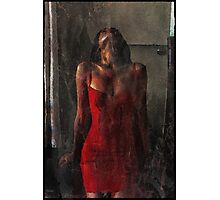 Red and wild Photographic Print