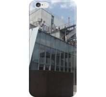 Outdoor Sculpture Deck, Whitney Museum, Renzo Piano, Architect, New York City  iPhone Case/Skin