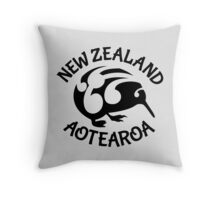 KIWI | New Zealand | Aotearoa Throw Pillow