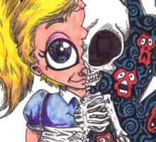 Schitzophrenia Sticker