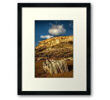 Big Rock, Bigger Rock Framed Print