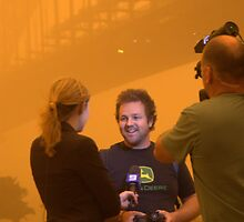 Sydney Dust Storm 2009 - TV Interview by jomar