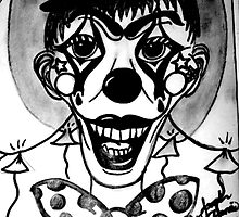 Happy Hell Circus Clown by Sarah-Cherrie