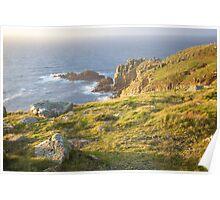 Lands End Sunset Poster