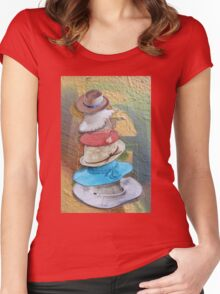 Hats Off Women's Fitted Scoop T-Shirt
