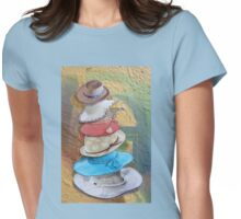 Hats Off Womens Fitted T-Shirt