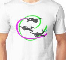 Aerobatic planes | Vivid Vapor trails Unisex T-Shirt